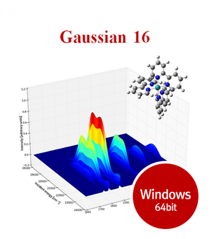 Gaussian16 for Windows 64bit